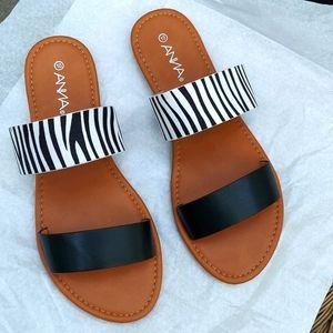 Anna, NWOB, Sandals, Size 10